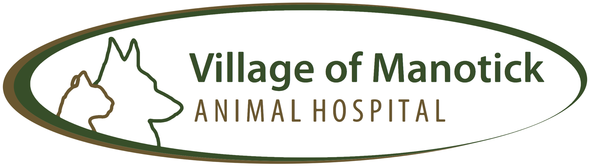 Village of Manotick Animal Hospital Logo